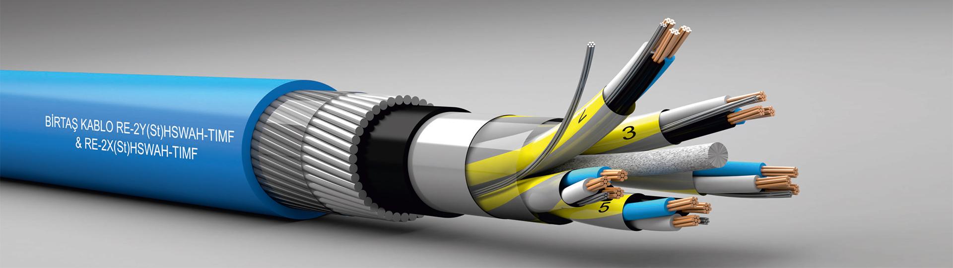 enstrümantasyon kabloları